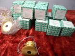 Точечный светильник 20 шт новые-золото, фото №3