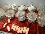 Светильники 10 штук. Новые+10 лампочек., фото №3