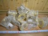 Светильники 20 штук новые.золото-патрон керамика., фото №4