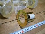 Светильники 20 штук новые.золото-патрон керамика., фото №8