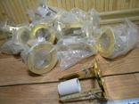 Светильники 20 штук новые.золото-патрон керамика., фото №11