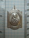 Серебряный Кулон Образок Ладанка Богородица Владимирская Умиление Серебро 925 проба 512 фото 3