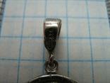 Новый Серебряный Кулон Подвеска Святой Николай Чудотворец Никола Серебро 925 проба 428, фото №5