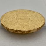 100 франков. 1901. Альберт I. Монако (золото 900, вес 32,24 г), фото №5