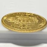 20 франков 8 форинтов. 1884. Франц Иосиф I. Австро-Венгрия (золото 900, вес 6,45 г), фото №4
