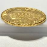 20 франков 8 форинтов. 1884. Франц Иосиф I. Австро-Венгрия (золото 900, вес 6,45 г), фото №5