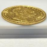 20 франков 8 форинтов. 1884. Франц Иосиф I. Австро-Венгрия (золото 900, вес 6,45 г), фото №6