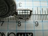Серебряный Кулон Образок Ладанка Богородица Владимирская Умиление Серебро 925 проба 530, фото №5
