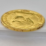 20 песет. 1887. Альфонсо XIII. Испания (золото 900, вес 6,46 г), фото №7