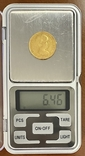 20 песет. 1887. Альфонсо XIII. Испания (золото 900, вес 6,46 г), фото №10