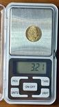 """10 франков. 1899. """"Революция"""" Франция (золото 900, вес 3,21 г), фото №11"""