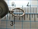 Серебряный Кулон Подвеска Образок Богородица Казанская Иисус Христос Серебро 925 проба 370, фото №5