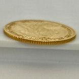 1/2 фунта (1/2 соверена). 1896. Виктория. Великобритания (золото 917, вес 3,92 г), фото №7