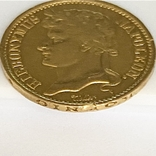 20 франков. 1809. Вестфалия. Германия (золото 900, вес 6,38 г), фото №12