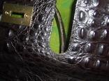 Сумка кожаная с тиснением Франция, фото №10