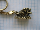 Брелок бронза,,дракон,,, фото №3