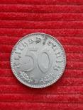 Германия 50 пфениг 1942 b, фото №2
