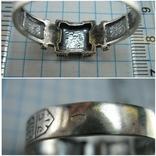 Серебряное Кольцо Перстень Размер 22.75 Мальтийский Крест Молитва 925 проба Серебро 513, фото №7