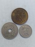 Монеты Дании 3 штуки, фото №3
