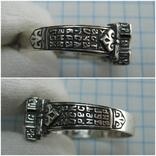 Новое Серебряное Кольцо Перстень Размер 23.0 Мальтийский Крест 925 проба Серебро 515, фото №5