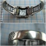 Новое Серебряное Кольцо Перстень Размер 23.0 Мальтийский Крест 925 проба Серебро 515, фото №6