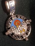 Підвіска Ангел Хранитель срібло 925, фото №5