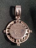 Підвіска Ангел Хранитель срібло 925, фото №8
