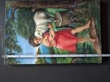 ''Агнец - девушка ''. х.м. 60х40 см. Н.Х. Копия., фото №6