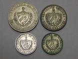 4 монеты Кубы, фото №2