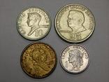4 монеты Филиппин, фото №2