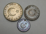 3 монеты Турции, фото №3