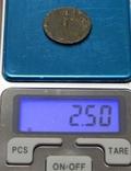 Медная античная монета, фото №4