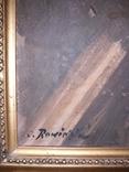 Бабуся з онучкою, художник Людвік Ровінскі, перша половина 20 століття, фото №7