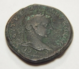 Медная античная монета, фото №5