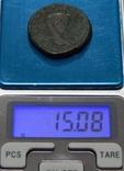 Медная античная монета, фото №6