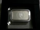 Год Кролика, РЫЖИЙ КРОЛИК - унция, серебро 999, 1 доллар - 2011 - ПОЛНЫЙ КОМПЛЕКТ, фото №7
