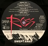 Diana Ross - Swert Away - 1984. (LP). 12. Vinyl. Пластинка. Holland. Club Edition., фото №6