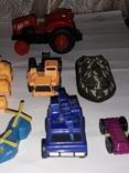 Лот игрушечный транспорт, фото №4