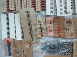 Радиодетали новые резисторы, конденсаторы,диоды,предохранители., фото №3