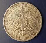 3 марки 1911 р. Вюртемберг. Весільна, фото №6