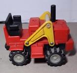 Игрушка СССР Трактор электомеханический, фото №3