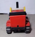 Игрушка СССР Трактор электомеханический, фото №6