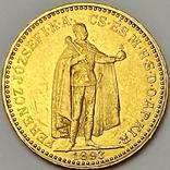 20 крон. 1893. Франц Иосиф I. Венгрия (золото 900, вес 6,77 г), фото №2