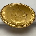 100 куруш. 1970. Турция (золото 917, вес 7,24 г), фото №7
