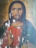 Икона 23.5 см х 17 см под Реставрацию, фото №4