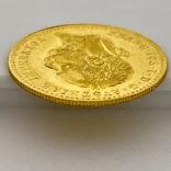 1 дукат. 1915. Франк Иосиф. Австрия (золото 986, вес 3,48 г), фото №8