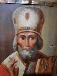 Икона Николай 51х46х10 см, фото №5