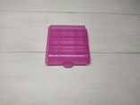 Оробка, бокс, кейс, Футляр для пальчиковых батареек АА или мини ААА Фиолетовый, фото №2