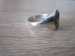 Перстень парашютиста Люфтваффе Серебро.Копия, фото №4