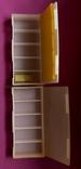2 коробки для хранения радиодеталей, фото №6